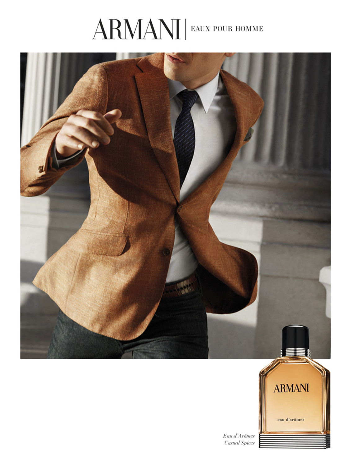 Armani, Eaux pour Homme, shot by Julien Oppenheim - © artifices