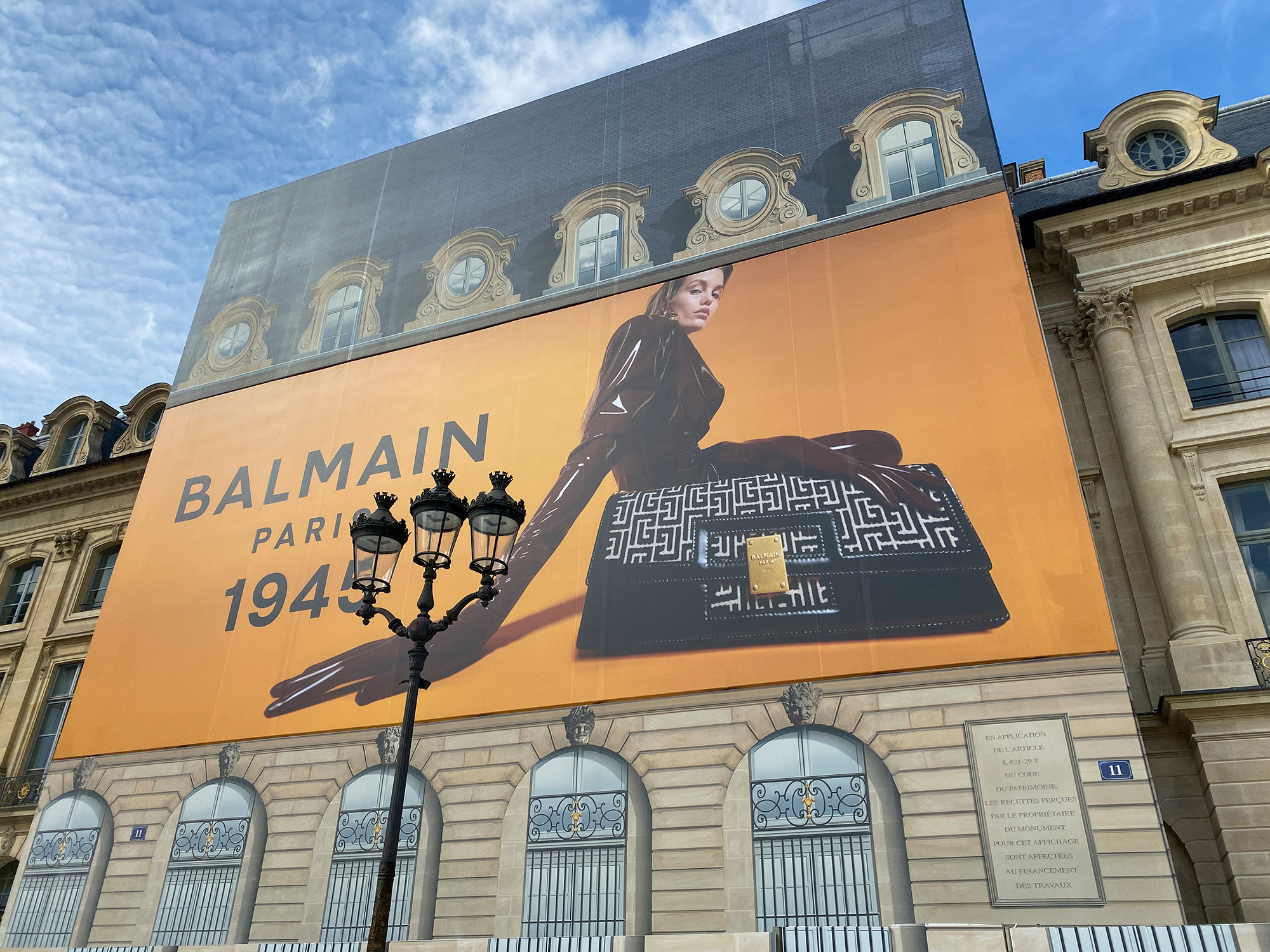 BALMAIN 1945 CAMPAIGN, shot by Valentin Herfray - © artifices