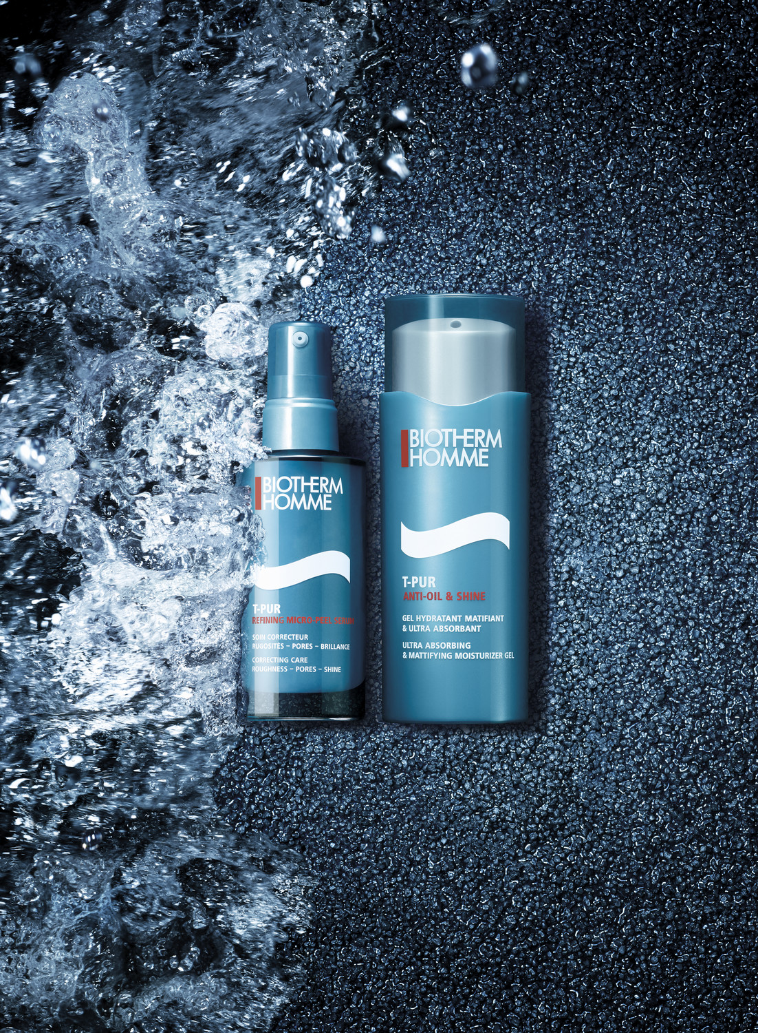 Biotherm campaign, aquapower & T-pur - © artifices