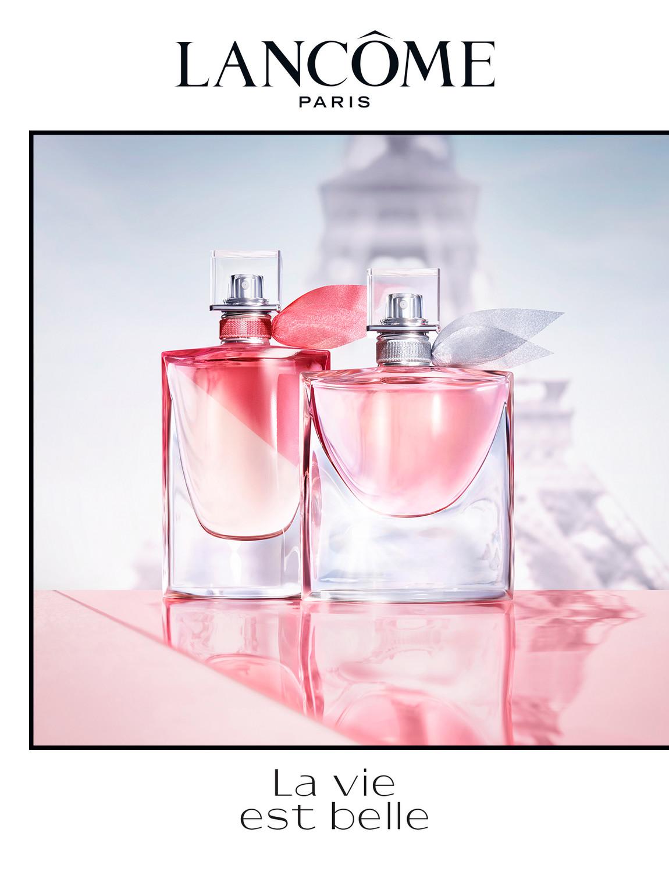 Lancôme campaign, la vie est belle en rose - © artifices